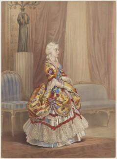 Queen Victoria, by Louis Haghe, 1845 - NPG D8157 - © National Portrait Gallery, London