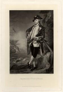Augustus John Hervey, 3rd Earl of Bristol, by Charles Algernon Tomkins, after  Thomas Gainsborough - NPG D816
