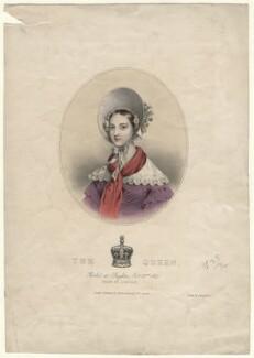Queen Victoria, printed by Leon Henri Lefèvre, published by  William Spooner, after  Joseph Bouvier - NPG D8163