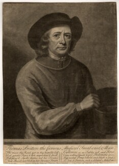 Thomas Britton, by John Simon, after  John Wollaston - NPG D817