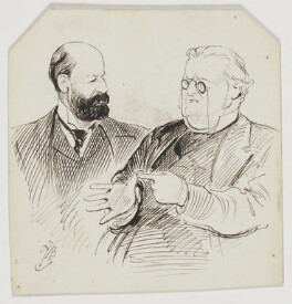 Joseph Charles Parkinson; Samuel Pope, by Alfred Bryan - NPG D8177