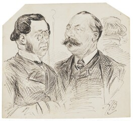 Two unknown men, by Alfred Bryan - NPG D8191