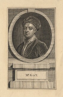 John Gay, after William Aikman - NPG D8205