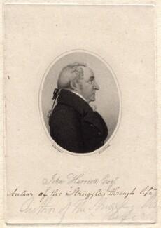 John Harriott, by Henry Richard Cook, after  Henry Hervé - NPG D8208