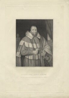 Robert Spencer, 1st Baron Spencer, by William Skelton, after  Thomas Uwins - NPG D8210
