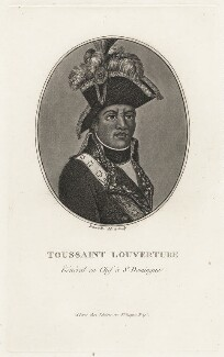 Toussaint L'Ouverture, by François Bonneville, after  Unknown artist, early 19th century - NPG D8212 - © National Portrait Gallery, London