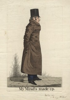 'My mind's made up' (Mr Mills or Mr Raikes), by and published by Richard Dighton - NPG D8215