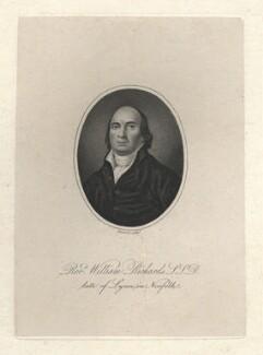 William Richards, by James Hopwood Sr - NPG D8216