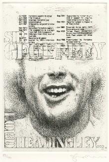 Geoffrey Boycott, by Tom Phillips - NPG D8229