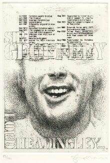Sir Geoffrey Boycott, by Tom Phillips - NPG D8229