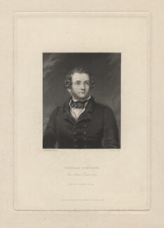 Thomas Simpson, by J. Cook, published by  Richard Bentley, after  George Pycock Green - NPG D8233