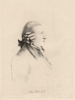 John Wall, by William Daniell, after  George Dance - NPG D12221