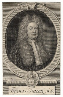 Thomas Fuller, by George Vertue, after  Joseph Tymewell - NPG D8245