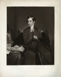 Richard Lynch Cotton, by Samuel Bellin, after  Sir William Boxall - NPG D8252
