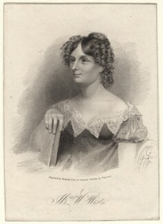 Sarah West (née Cooke), by Thomas Woolnoth, after  Thomas Charles Wageman - NPG D8258