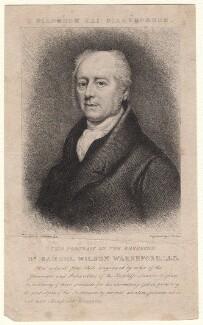 Samuel Wilson Warneford, by J. Fisher, after  Thomas Phillips - NPG D8259