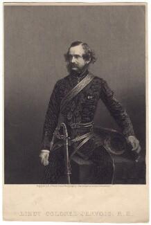Sir William Francis Drummond Jervois, by Daniel John Pound, after  John & Charles Watkins, published circa 1859-1862 - NPG D8260 - © National Portrait Gallery, London