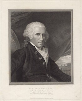 Benjamin West, by Thomas Holloway, after  Benjamin West - NPG D8266