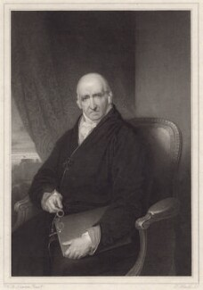 Benjamin West, by Charles Theodosius Heath, after  Sir William John Newton - NPG D8267