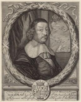 Mildmay Fane, 2nd Earl of Westmorland, by Peter Williamson, after  J.B.N. - NPG D8277
