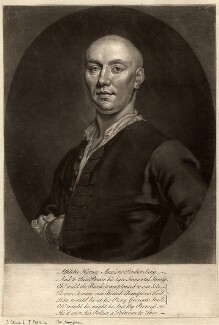 John ('Jack') Broughton, possibly by John Faber Jr, possibly after  John Ellys - NPG D828