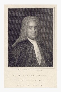 Jonathan Hulls, by William Thomas Fry, after  Unknown artist - NPG D8288
