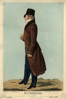 Sir Henry Frederick Cooke ('Kangkook'), by William Staden Blake, published by  Samuel William Fores, after  Richard Dighton - NPG D8291