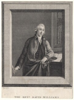 David Williams, by John Thornthwaite, after  Stephen Francis Rigaud - NPG D8293