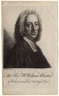 William Whiston, by Benjamin Wilson - NPG D8302