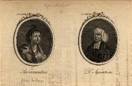 Parrawankaw; George Whitefield, after Unknown artist - NPG D8312