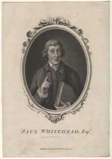 Paul Whitehead, by Joseph Collyer the Younger, after  Thomas Gainsborough - NPG D8314