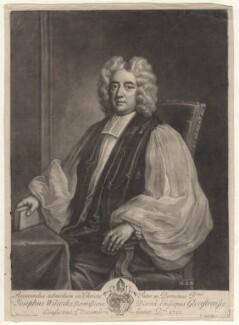 Joseph Wilcocks, by John Simon, after  Enoch Seeman - NPG D8324
