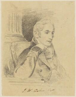 John Wilson Croker, by George Perfect Harding - NPG D834