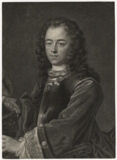 Peter I ('The Great'), by Bernard Vogel, after  Jan Kupecký (Kupetzki) - NPG D8345