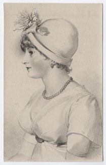 Priscilla Kemble (née Hopkins), by Richard James Lane, after  Sir Thomas Lawrence - NPG D8347