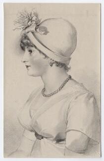 Priscilla Kemble (née Hopkins), by Richard James Lane, after  Sir Thomas Lawrence, published 1830 - NPG D8347 - © National Portrait Gallery, London