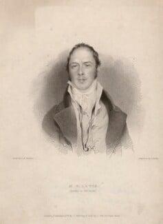 Monk Lewis, by J. Hollis, published by  John Samuel Murray, sold by  Charles Tilt, after  George Henry Harlow - NPG D8350
