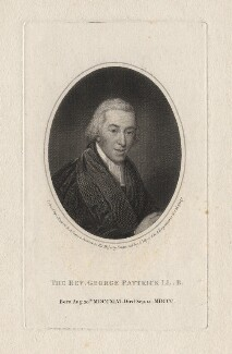 George Pattrick, by Joseph Collyer the Younger, after  John Russell - NPG D8351