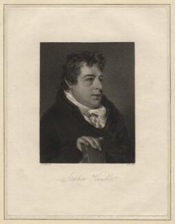 Stephen Kemble, by James Heath, after  John Raphael Smith, published 1808 - NPG D8352 - © National Portrait Gallery, London