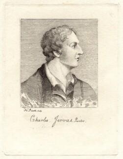 Charles Jervas, by Thomas Priscott, after  Gerard Vandergucht - NPG D8359