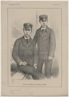 Albert Victor, Duke of Clarence; King George V, by Judd & Co - NPG D8361