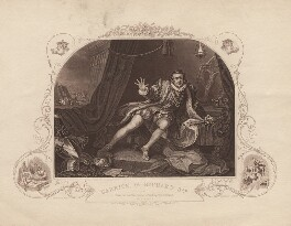 David Garrick as Richard III, by E.J. Portbury, after  William Hogarth, mid 19th century (1741) - NPG  - © National Portrait Gallery, London
