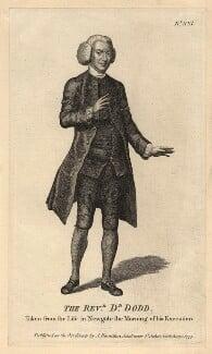 William Dodd, after Unknown artist - NPG D8365