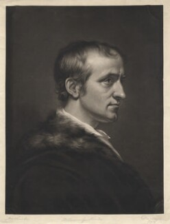 William Godwin, by George Dawe, after  James Northcote, (1802) - NPG D8387 - © National Portrait Gallery, London