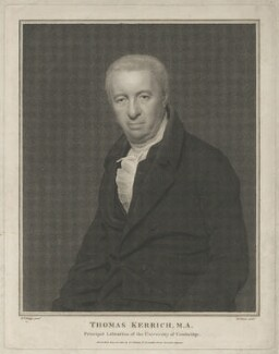 Thomas Kerrich, by and published by Georg Siegmund Facius, after  Henry Perronet Briggs, published 12 June 1815 - NPG D8389 - © National Portrait Gallery, London