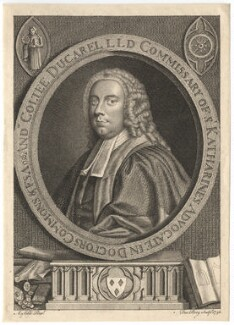 Andrew Coltee Ducarel, by Francis Perry, after  Andrea Soldi - NPG D8394