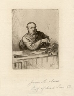 James Muirhead, by William Brassey Hole - NPG D8395