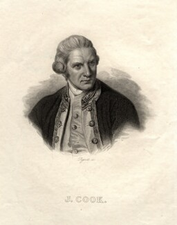 James Cook, by François Pigeot, after  Nathaniel Dance (later Sir Nathaniel Holland, Bt) - NPG D8407