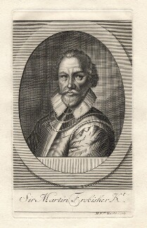 Sir Martin Frobisher, by Michael Vandergucht - NPG D8409