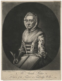 Sarah Porter, by William Pether - NPG D8411